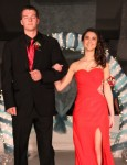 Mariana Chavez escorted by Ty Domben