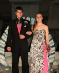 Kelsey Bowers escorted by Ian Snodgrass
