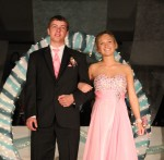 Tristin Vall escorted by Tanner Bickford