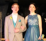 Emmalie Munson escorted by Andrew Haberman