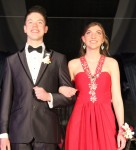 Laura Ellen Brandjord escorted by Nathan Hercher