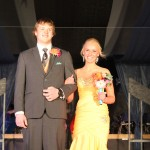 Katelyn Brossart escorted by Vince Bechtold
