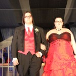Ashley Ovitt escorted by Jeremy Watson