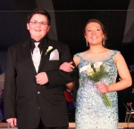 Taisyn St. Claire escorted by Cody Leonard