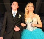 Madison Klebe escorted by Jonathan Heth