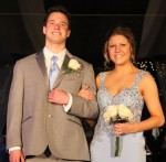 Shelby Grenier escorted by Darren Jahner