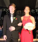 Hannah Tofteland escorted by Paker Engelhard