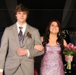 Shelby Pedie escorted by Riley Gallagher