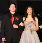 Juliann Bradjord escorted by Cody Hunt