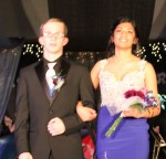 Anjali Kumar escorted by Hunter Wall