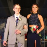 Reina Paulus escorted by Dylan Block