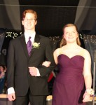 Ashleigh Jerde escorted by Jesse Heil