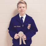 Jayden Handeland Silver in Creed Contest